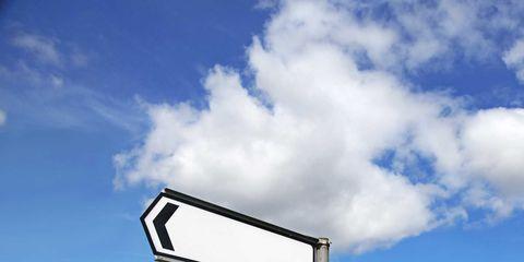 Sky, Natural landscape, Cloud, Grass, Grassland, Rural area, Sign, Field, Tree, Landscape,