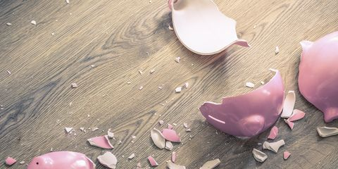 Pink, Petal, Piggy bank, Plant, Flower, Heart,