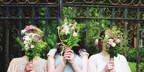 Photograph, Floral design, Green, Flower, Flower Arranging, Pink, Bouquet, Floristry, Plant, Botany,