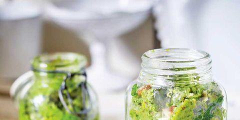 Mason jar, Food, Cuisine, Vegetarian food, Dish, Plant, Ingredient, Side dish, Vegetable,