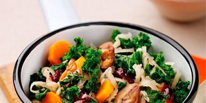 Food, Ingredient, Orange, Cuisine, Serveware, Leaf vegetable, Recipe, Dish, Tableware, Bowl,