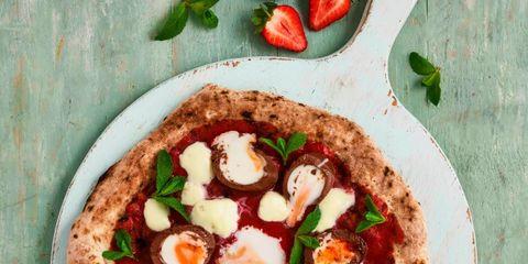 Dish, Food, Cuisine, Pizza, Ingredient, Flatbread, Produce, Staple food, Recipe, Italian food,