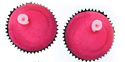 Pink, Magenta, Dessert, Sweetness, Baking cup, Baked goods, Circle, Baking, Cake, Cupcake,