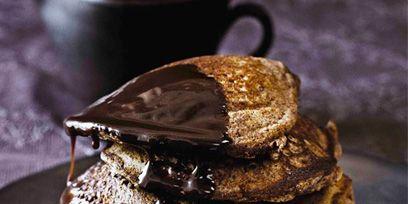 Dish, Food, Cuisine, Dessert, Ingredient, Chocolate, Baked goods, Recipe, Meringue, Ganache,
