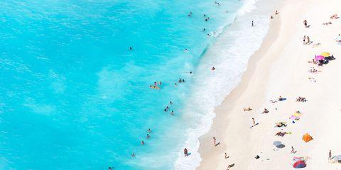 Body of water, Blue, Coastal and oceanic landforms, Aqua, Shore, Turquoise, Teal, Coast, Ocean, Colorfulness,