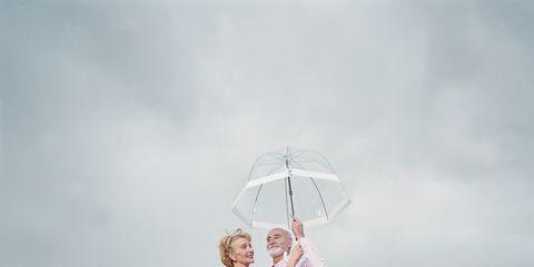 Happy, People in nature, Vacation, Boardwalk, Deck, Love, Walkway, Honeymoon, Bride, Umbrella,