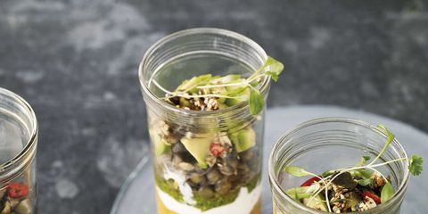 Food, Dish, Cuisine, Ingredient, Mason jar, Vegetarian food, Recipe, Plant, Produce, Herb,