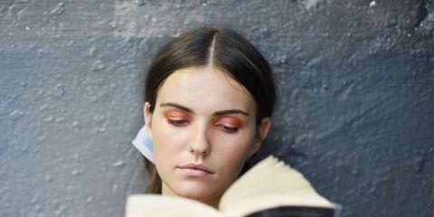 Face, Head, Skin, Beauty, Forehead, Cheek, Lip, Eye, Reading, Human,