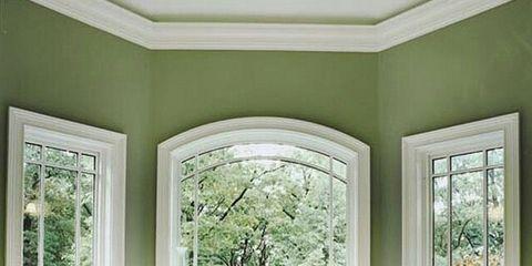 Green, Interior design, Room, Architecture, Floor, Property, Bathtub, Wall, White, Flooring,