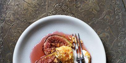 Serveware, Food, Dishware, Ingredient, Tableware, Plate, Cuisine, Dish, Meal, Common fig,
