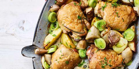 Dish, Food, Cuisine, Brussels sprout, Ingredient, Cruciferous vegetables, Vegetable, Hendl, Leaf vegetable, Lemon chicken,