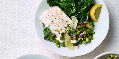 Food, Ingredient, Cuisine, Leaf vegetable, Dishware, Produce, Garnish, Fines herbes, Vegetable, Dish,