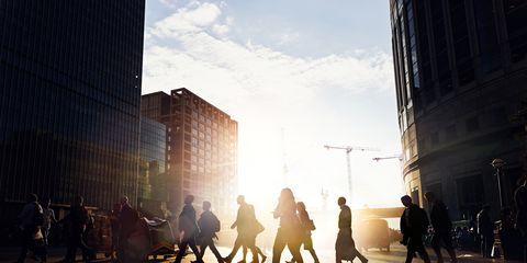 Infrastructure, Neighbourhood, Street, Building, Urban area, Metropolitan area, Shadow, Sunlight, Pedestrian, Metropolis,