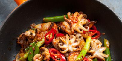 Food, Ingredient, Cuisine, Produce, Vegetable, Recipe, Cooking, Cookware and bakeware, Stir frying, Dish,