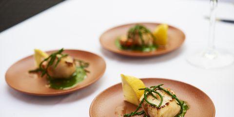 Food, Serveware, Dishware, Ingredient, Tableware, Culinary art, Cuisine, Dish, Plate, Garnish,