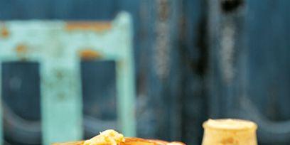 Food, Ingredient, Cuisine, Breakfast, Plate, Dish, Snack, Baked goods, Finger food, Gluten,