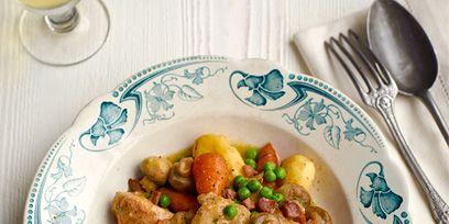 Dishware, Food, Serveware, Tableware, Ingredient, Meat, Kitchen utensil, Dish, Cutlery, Drinkware,