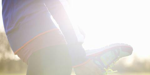 White, Light, Leg, Sunlight, Human leg, Joint, Arm, Grass, Footwear, Lens flare,