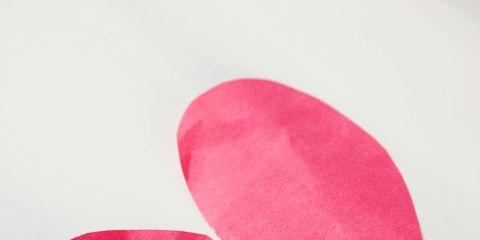 Pink, Footwear, Magenta, Petal, Heart, Shoe,