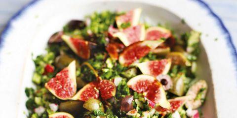 Food, Dishware, Cuisine, Salad, Leaf vegetable, Produce, Tableware, Vegetable, Ingredient, Recipe,