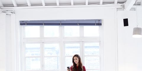 White, Red, Room, Beauty, Interior design, Shoulder, Fashion, Architecture, Leg, Dress,
