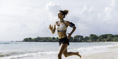 Running, Recreation, Jogging, Fun, Exercise, Water, Beach, Individual sports, Long-distance running, Sea,
