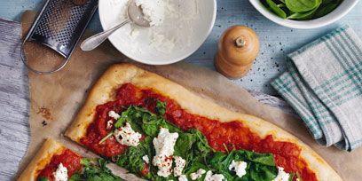 Food, Ingredient, Dishware, Serveware, Dish, Baked goods, Pizza, Cuisine, Recipe, Plate,