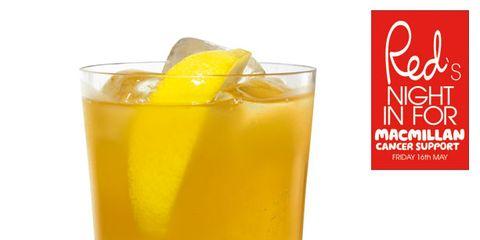 Fluid, Liquid, Yellow, Drink, Tableware, Alcoholic beverage, Ingredient, Juice, Liqueur, Highball glass,