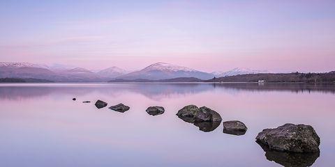 Body of water, Reflection, Sky, Water, Nature, Blue, Lake, Lake district, Loch, Atmospheric phenomenon,