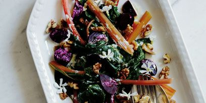 Food, Cuisine, Purple, Leaf vegetable, Salad, Dishware, Recipe, Tableware, Produce, Ingredient,