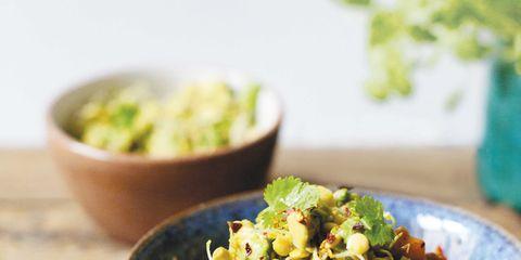 Food, Serveware, Tableware, Dishware, Cuisine, Bowl, Ingredient, Kitchen utensil, Mixing bowl, Spoon,