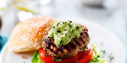 Dish, Food, Cuisine, Ingredient, Slider, Recipe, Produce, Hamburger, Veggie burger, Staple food,