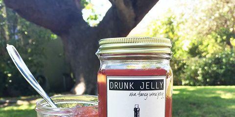 Mason jar, Food, Drink, Drinkware, Tableware, Plant, Glass, Label, Ingredient,