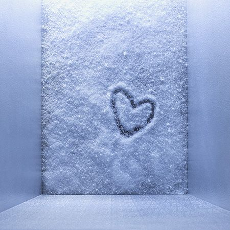 Pattern, Heart, Love, Still life photography, Silver, Snow,