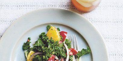 Food, Dishware, Serveware, Ingredient, Leaf vegetable, Vegetable, Tableware, Produce, Plate, Salad,