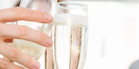 Nail, Hand, Champagne, Water, Drink, Stemware, Champagne stemware, Glass, Finger, Wine glass,