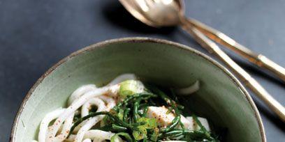 Cuisine, Food, Ingredient, Recipe, Soup, Dish, Noodle, Kitchen utensil, Leaf vegetable, Cutlery,