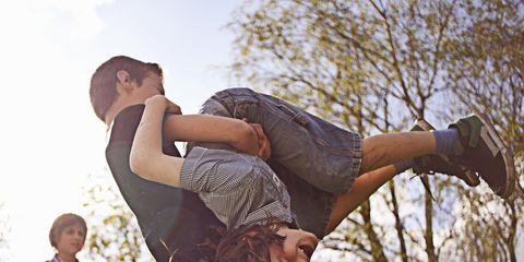 People in nature, Fun, Happy, Leg, Balance, Tree, Photography, Jumping, Human leg,