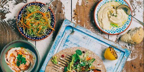 Cuisine, Food, Dish, Tableware, Dishware, Recipe, Plate, Meal, Garnish, Serveware,