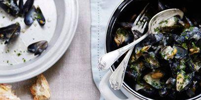 Food, Cuisine, Seafood, Dish, Ingredient, Recipe, Bivalve, Tableware, Meal, Dishware,