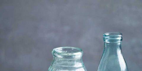 Product, Aqua, Milk, Dairy, Mason jar, Glass, Bottle, Hemp milk, Drink, Buttermilk,