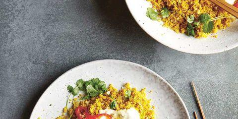 Dish, Food, Cuisine, Ingredient, Fried egg, Poached egg, Meal, Brunch, Produce, Vegetarian food,