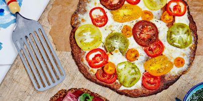 Dish, Food, Cuisine, Pizza, Ingredient, Flatbread, Tarte flambée, Produce, Recipe, Italian food,