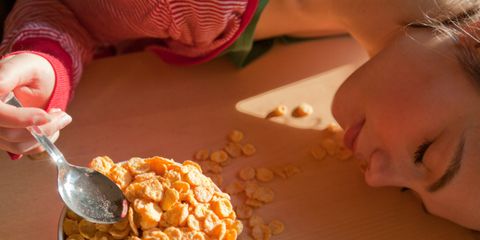 Dish, Food, Cuisine, Breakfast cereal, Meal, Granola, Breakfast, Ingredient, Vegetarian food, Cereal,