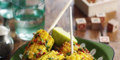 Slimming World Chilli corn on the cob recipe