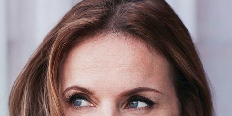 Hair, Face, Eyebrow, Lip, Hairstyle, Skin, Beauty, Chin, Brown hair, Cheek,