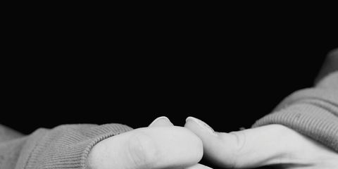 White, Hand, Finger, Gesture, Black-and-white, Holding hands, Interaction, Photography, Stock photography, Nail,