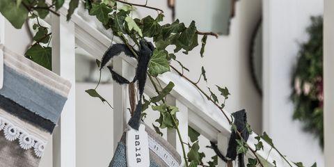 Branch, Twig, Room, Textile, Linens, Plant, Home, Christmas decoration, Silver, Interior design,