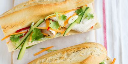 Sandwich, Food, Finger food, Baked goods, Breakfast, Cuisine, Vegetable, Ingredient, Fast food, Snack,