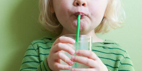 Drinking straw, Lip, Child, Smoothie, Drinking, Drink, Hand, Dairy,